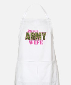 Camo Proud Army Wife Apron