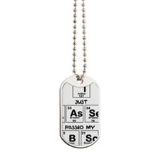 I just passed my BSc Dog Tags