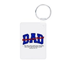 Christian Dad - Fathers Day Keychains
