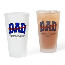 Christian Dad - Fathers Day Drinking Glass