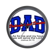 Christian Dad - Fathers Day Wall Clock