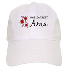 WB Mom [Basque] Baseball Cap