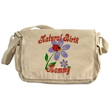 Natural Birth Mommy Messenger Bag