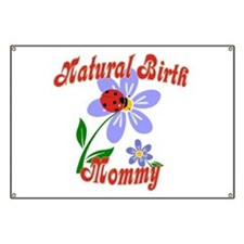 Natural Birth Mommy Banner