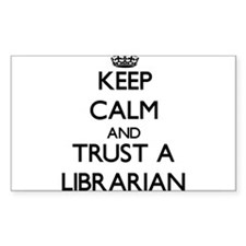 Keep Calm and Trust a Librarian Decal
