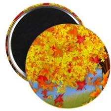 Fall Tree Magnets