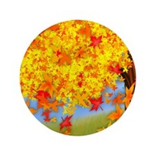 "Fall Tree 3.5"" Button (100 pack)"