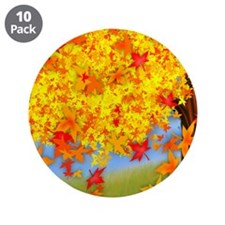 "Fall Tree 3.5"" Button (10 pack)"