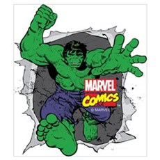 Hulk Rip Wall Art Framed Print