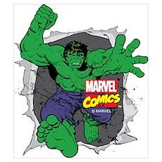 Hulk Rip Wall Art Poster