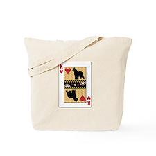 King Briard Tote Bag