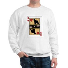 King Briard Sweatshirt