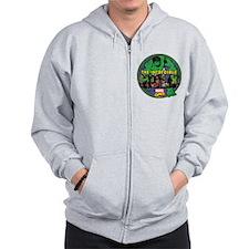 The Hulk Badge Zip Hoodie