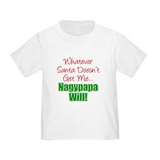 Santa Nagypapa Will T-Shirt
