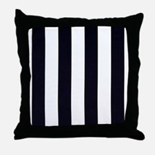 Classic Black Throw Pillow