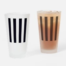 Classic Black Drinking Glass