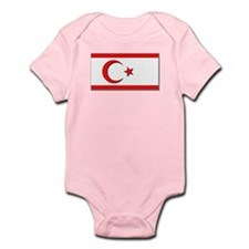 Flags of the Turkish Rep of Northe Onesie