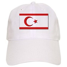 Flags of the Turkish Rep of Northern Cyprus Cap