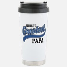 Funny Papa Travel Mug