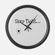 Sleep Tight... Large Wall Clock