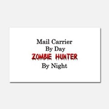 Mail Carrier/Zombie Hunter Car Magnet 20 x 12