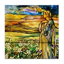 Field of Lilies Tile Coaster