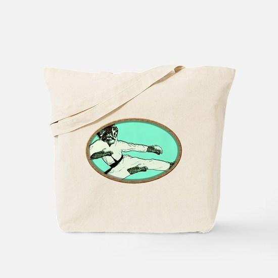 Karate Kat (cat) Tote Bag