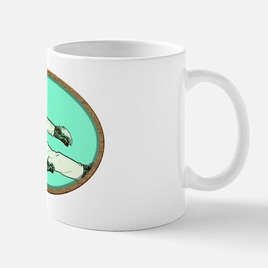 Karate Kat (cat) Mug