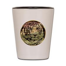Golden tiger Shot Glass