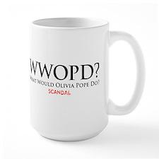 WWOPD? Large Mug