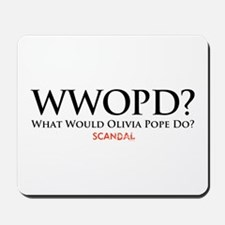 WWOPD? Mousepad