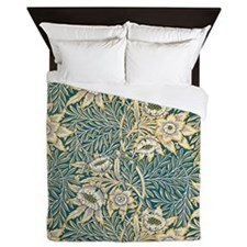 William Morris Tulip and Willow Queen Duvet
