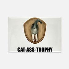 Cat Ass Trophy Magnets