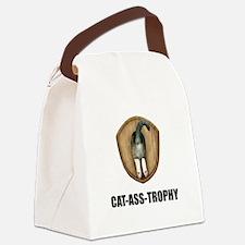 Cat Ass Trophy Canvas Lunch Bag