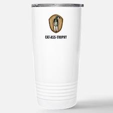 Cat Ass Trophy Travel Mug