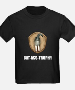 Cat Ass Trophy T-Shirt