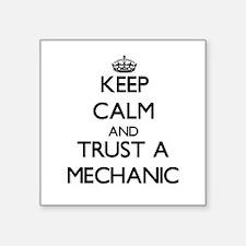 Keep Calm and Trust a Mechanic Sticker