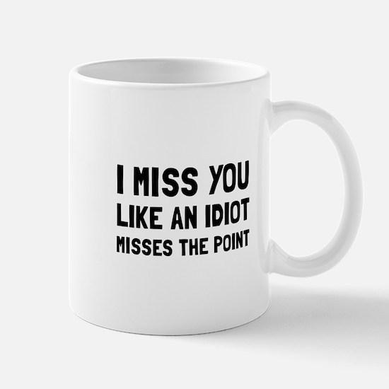 I Miss You Mugs