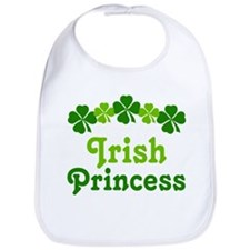 Irish Princess (rainbow) Bib