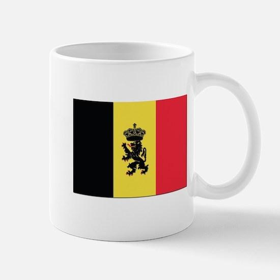 Belgium State Ensign Flag Mug