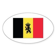 Belgium State Ensign Flag Decal
