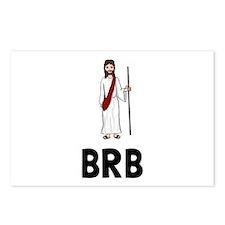 Jesus BRB Postcards (Package of 8)
