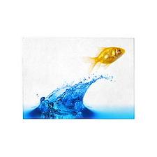 Goldfish Splash 5'x7'Area Rug
