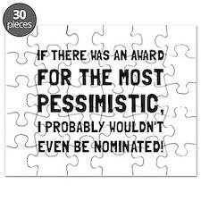 Most Pessimistic Black Puzzle