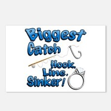 Biggest Catch Hook Line Sinker Wedding Ring! Postc