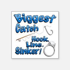 Biggest Catch Hook Line Sinker Wedding Ring! Stick