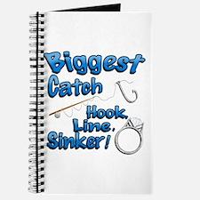 Biggest Catch Hook Line Sinker Wedding Ring! Journ