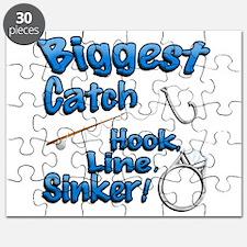 Biggest Catch Hook Line Sinker Wedding Ring! Puzzl
