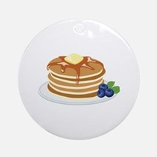 Pancakes Ornament (Round)
