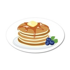 Pancakes Wall Decal